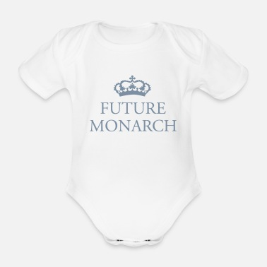 Monarch Future Monarch - Organic Short-Sleeved Baby Bodysuit