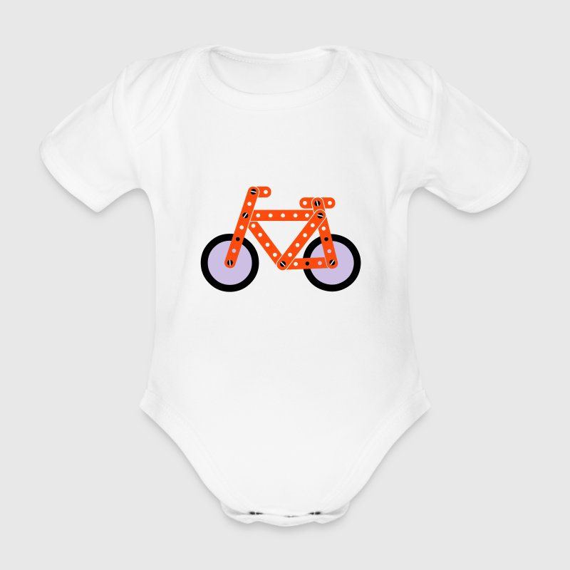 bicycle model - Baby Bio-Kurzarm-Body