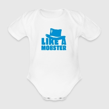 like a mobster / like a boss 1c - Ekologisk kortärmad babybody