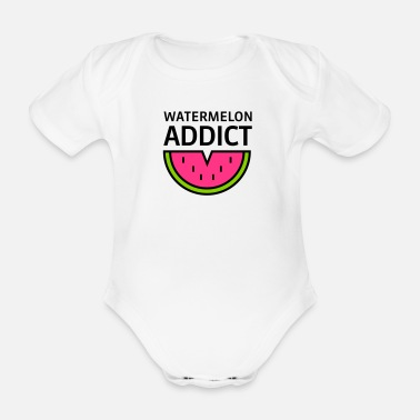 Bio Baby Bio Kurzarm-Body Watermelon Addict - Baby Bio-Kurzarm-Body