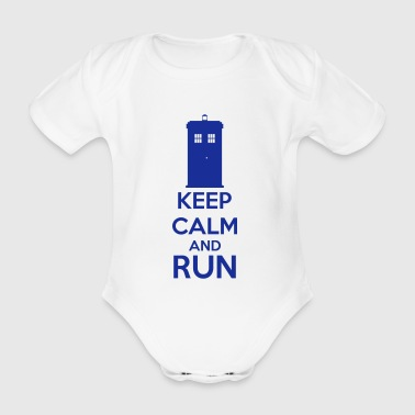 Keep Calm And Run - Body bébé bio manches courtes