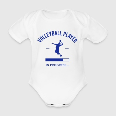 Volleyball Player loading - Body bébé bio manches courtes