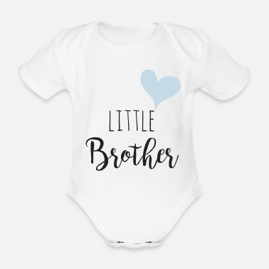 Little Brother Little brother - Organic Short-Sleeved Baby Bodysuit