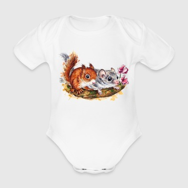 SM Siebenschläfer | edible dormouse T-Shirts - Body bébé bio manches courtes