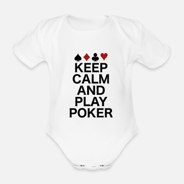 Poker poker - Organic Short-Sleeved Baby Bodysuit
