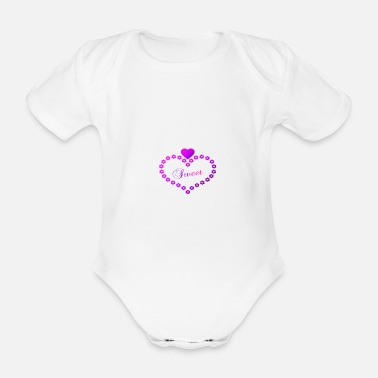Sweet Fash Sweet - Organic Short-Sleeved Baby Bodysuit