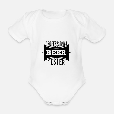 Beer Tester Professional Beer Tester Beer Alcohol Beer Stein Par - Organic Short-Sleeved Baby Bodysuit