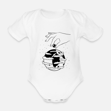 New World New World? - Organic Short-Sleeved Baby Bodysuit