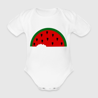 melon - Organic Short-sleeved Baby Bodysuit