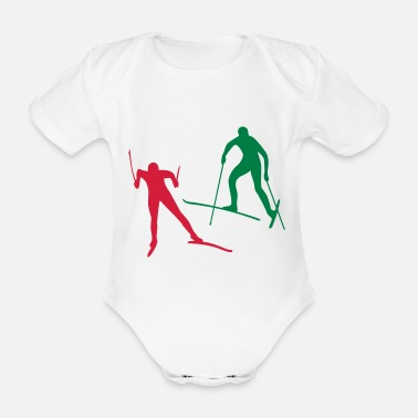 Sports sports - Organic Short-Sleeved Baby Bodysuit