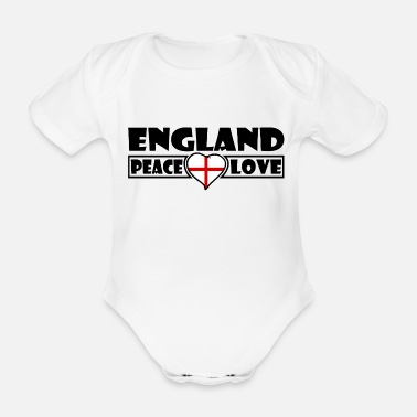 Angleterre Angleterre - Body Bébé bio manches courtes