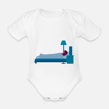 Sleeping Sleep - Organic Short-Sleeved Baby Bodysuit