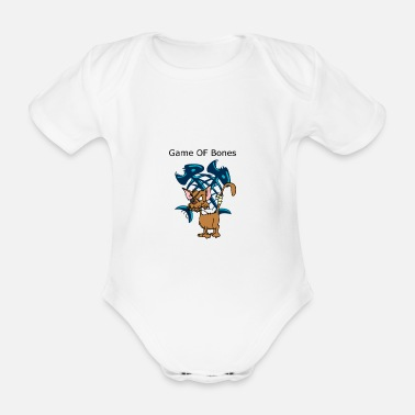 bones - Organic Short-Sleeved Baby Bodysuit