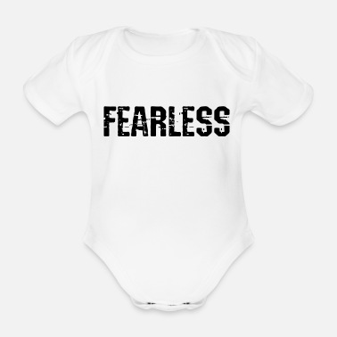 Fearless Fearless Fearless - Organic Short-Sleeved Baby Bodysuit