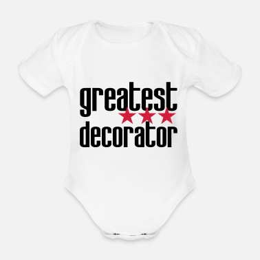 Decorator / Designer / Dekorateur / Décorateur - Organic Short-Sleeved Baby Bodysuit