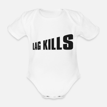 Game Over Gaming Gamer Spielkonsole Konsole Gamepad Geschenk - Organic Short-sleeved Baby Bodysuit