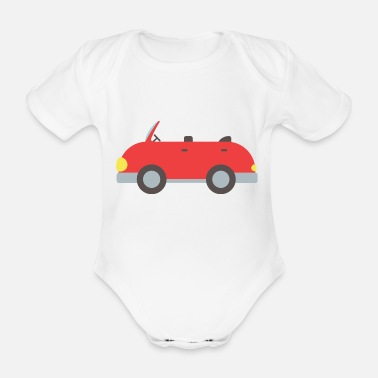 Convertible convertible - Organic Short-Sleeved Baby Bodysuit
