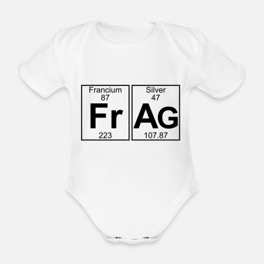 Element Fr-Ag (frag) - Full - Baby Bio Kurzarmbody