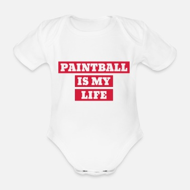 Airsoft Paintball Airsoft Sport Sportler Spieler - Baby Bio Kurzarmbody