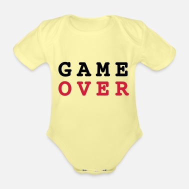 Game Over Game Over - Body Bébé bio manches courtes