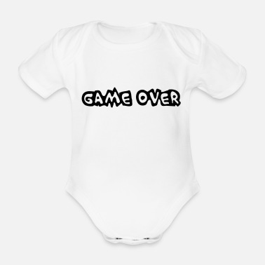Gaming Game Over - Ekologisk kortärmad babybody