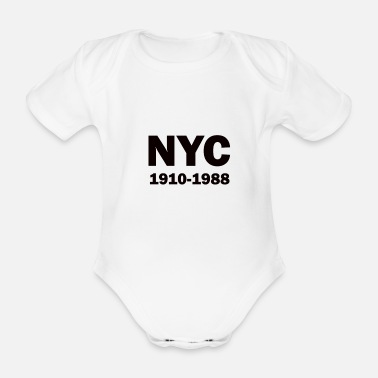 Attractive attractive - Organic Short-Sleeved Baby Bodysuit