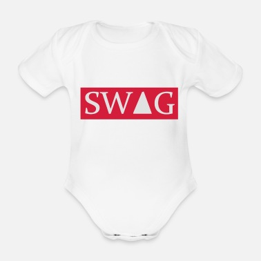 Swag Swag - Organic Short-Sleeved Baby Bodysuit