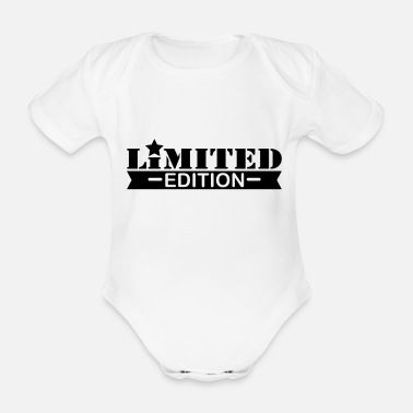 Single limited_edition_3_f1 - Organic Short-Sleeved Baby Bodysuit