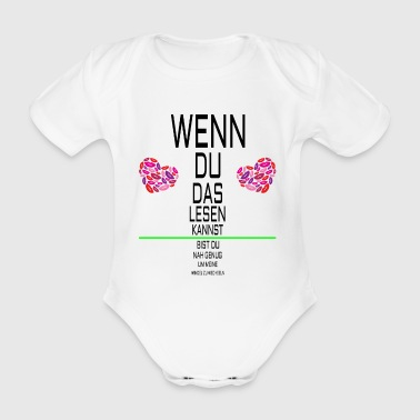 Baby Body Windel Wechseln Lesetest - Baby Bio-Kurzarm-Body
