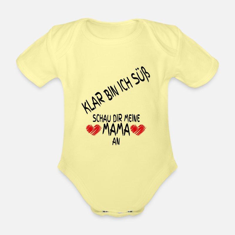 ❤ NEU Baby Kurzarm Body weiß I LOVE MAMA ❤ I LOVE PAPA  Gr 74