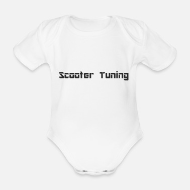 Tuning S.cooter tuning - Body bébé bio manches courtes