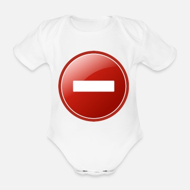 Remove remove - Organic Short-Sleeved Baby Bodysuit