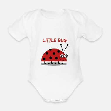 New Baby Little bug - Organic Short-Sleeved Baby Bodysuit