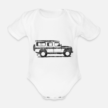 Defender Defender - Organic Short-sleeved Baby Bodysuit