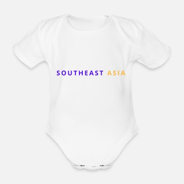 South East Asia South East Asia - Organic Short-Sleeved Baby Bodysuit