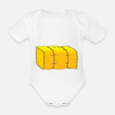 Hay hay - Organic Short-Sleeved Baby Bodysuit