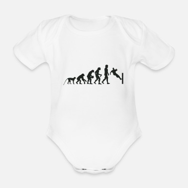 Sprinten Evolution Parcour - Organic Short-Sleeved Baby Bodysuit