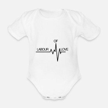 Labour Labour of Love - Organic Short-Sleeved Baby Bodysuit