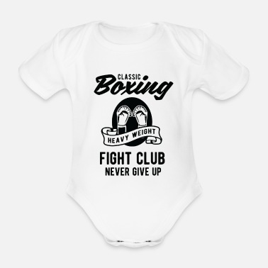 Ju Jitsu boxing - Organic Short-sleeved Baby Bodysuit