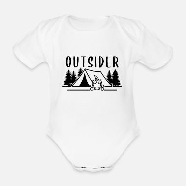 Outside OUTSIDER - Baby Bio Kurzarmbody