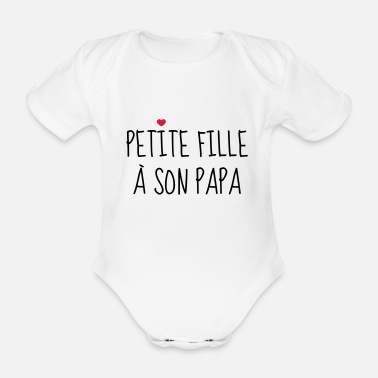 c232ee70ebd50 Petite fille à son Papa - Naissance - Enfant Body Bébé bio manches ...