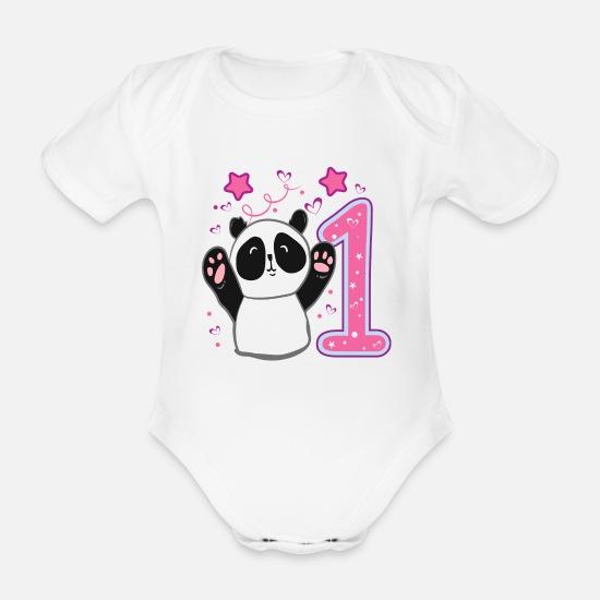 Erster 1 Geburtstag Madchen Eins Panda Geschenk Baby Bio