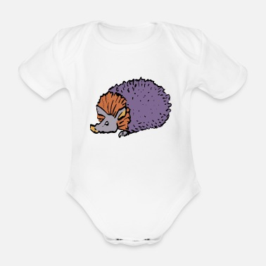 Aardvark aardvark earth pig5 - Organic Short-sleeved Baby Bodysuit
