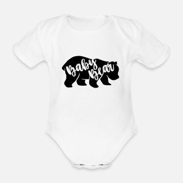 Partnerlook Baby Bear - für Eltern-Baby-Partnerlook - Baby Bio Kurzarmbody
