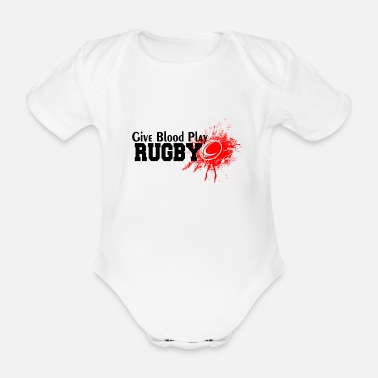 Rugby RUGBY - Baby Bio Kurzarmbody