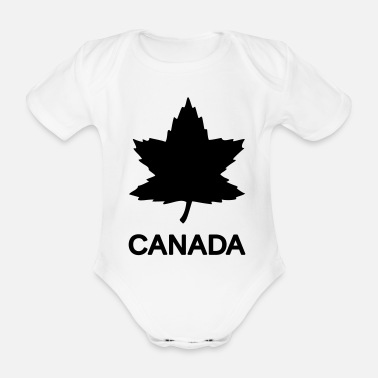 Privat Private Basic CANADA Army, Mision Militar ™ - Baby Bio Kurzarmbody