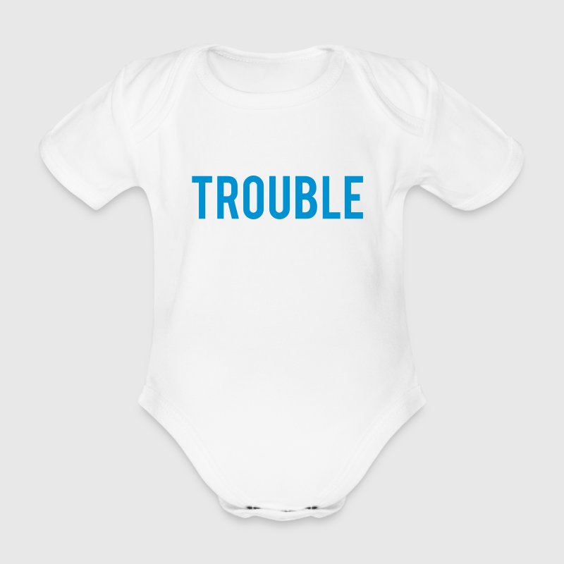 Double Trouble - Organic Short-sleeved Baby Bodysuit