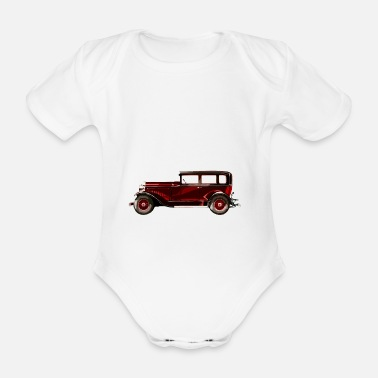 Vehicle vehicle - Organic Short-sleeved Baby Bodysuit