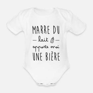 Spreadshirt Jaime Mon Papa P/ère Enfants Body B/éb/é Bio Manches Courtes