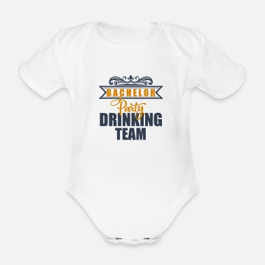 Bachelor Bachelor - Organic Short-sleeved Baby Bodysuit